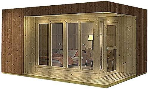 Allwood Arlanda - Kit de montaje de casa de jardín: Amazon.es: Hogar