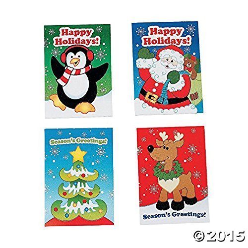 Activity Book Pack - 72 mini CHRISTMAS ACTIVITY BOOKS - Christmas toys and party favors Bulk Class Pack