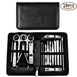 Manicure Pedicure Set Nail Clippers, KEZAY 18 Pcs Review and Comparison