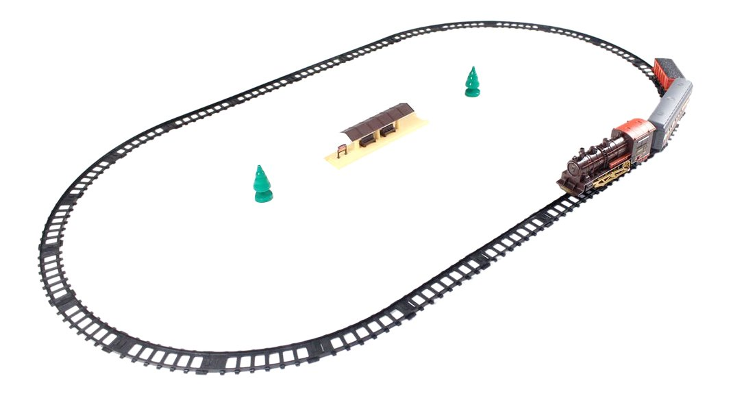 Modern Style Design Train set Play toy - great gift idea for boys and girls B018MN3LLQ