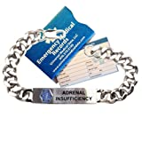 Pre-engraved Diabetes Type 2'' Traditional Stainless Steel Medical ID Bracelets For Men