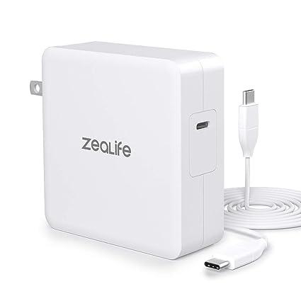 Amazon.com: ZeaLife - Cargador de pared USB C PD para ...