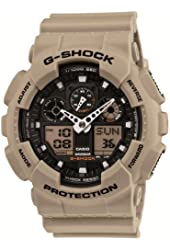 Casio G-SHOCK Desert Beige Series GA-100SD-8AJF (Japan Import)