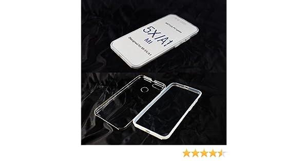 Generica - Funda TPU Doble 360 Frontal Trasera Sin Puntos - Xiaomi Mi A1/Mi 5X