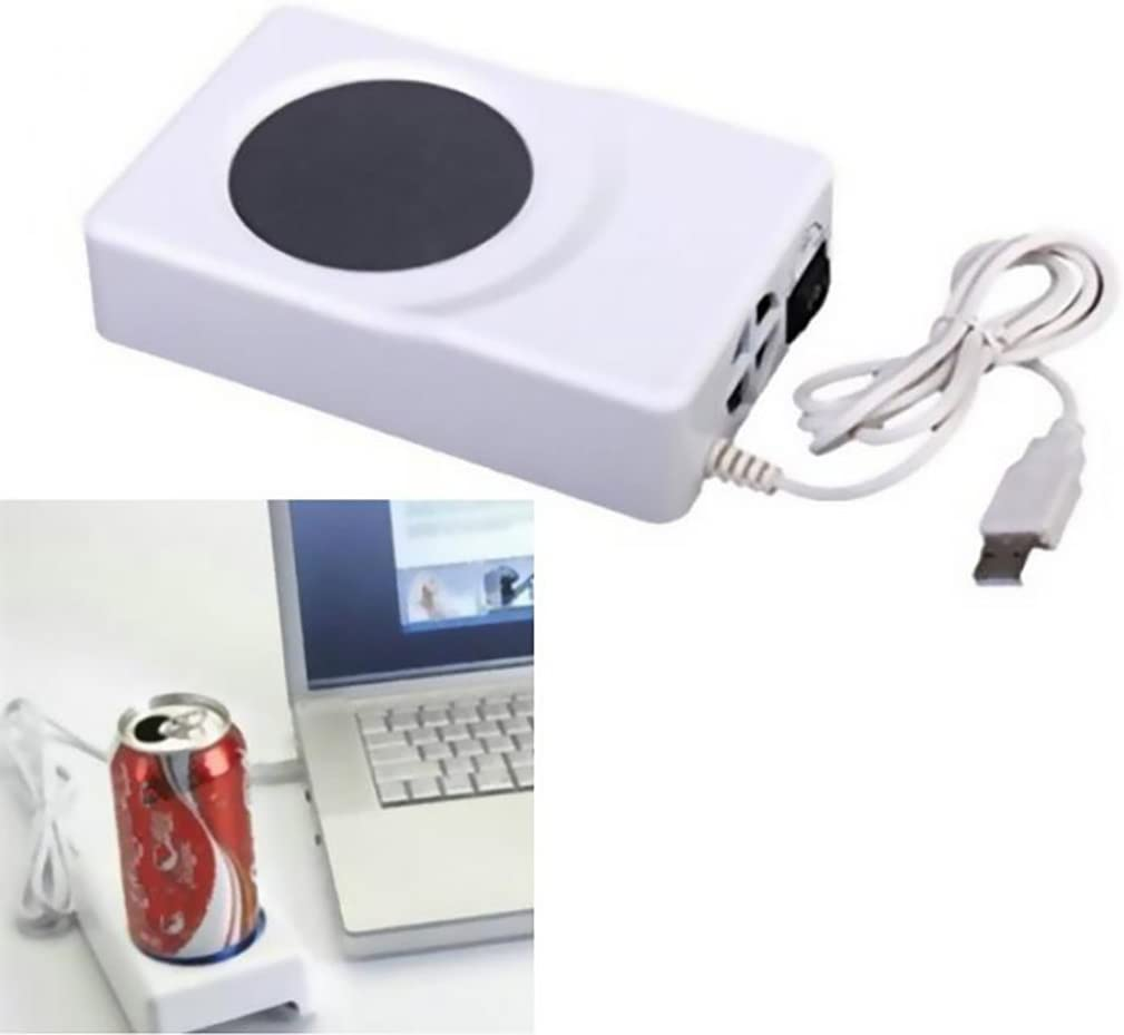 KADIP Dual Use USB Keep Cooler Warmer Cup Coffee Tea Beverage Cans Cooler & Warmer Heater Chilling Coasters