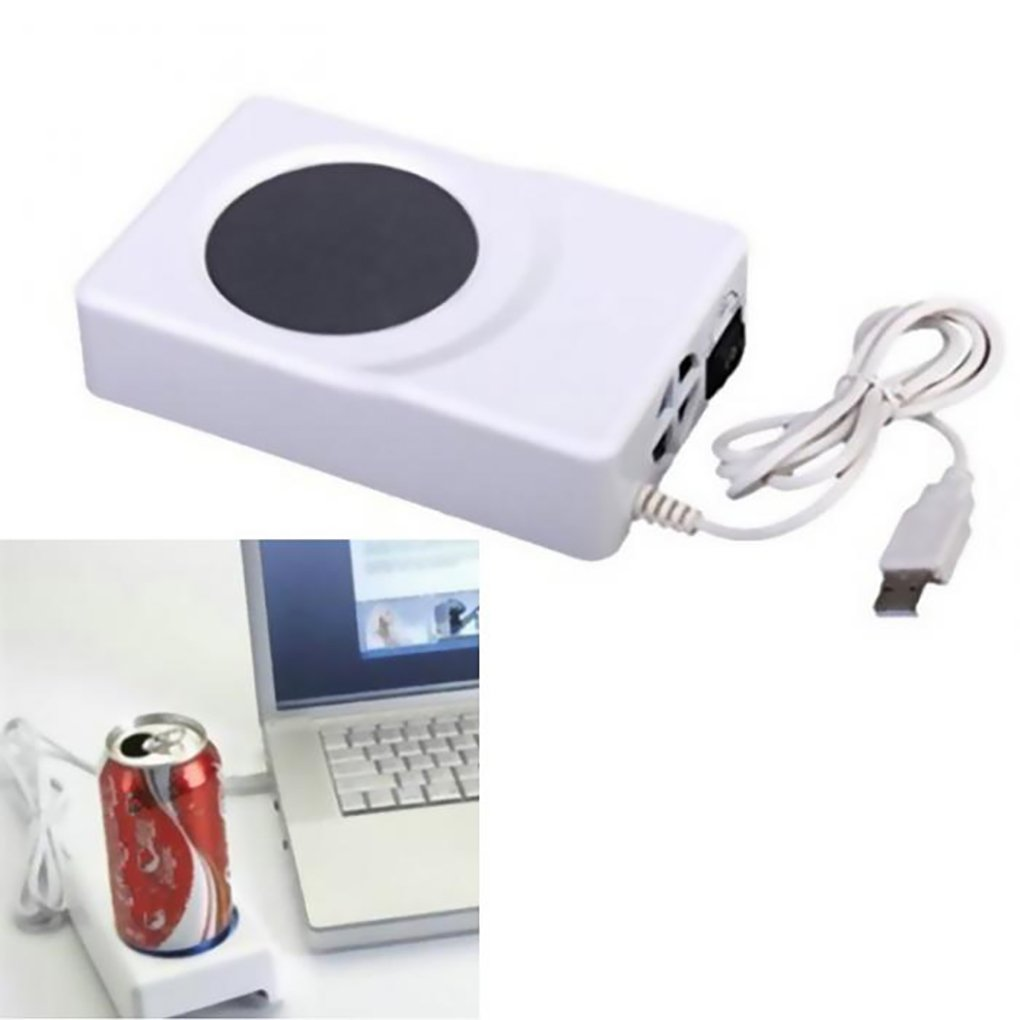 KADIP Dual Use USB Cooler Warmer Cup Coffee Tea Beverage Cans Cooler & Warmer Heater Chilling Coasters