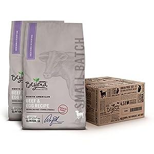 Purina Beyond Small Batch Grain-Free Beef & Egg Dry Dog Food - 4.5 lb. Bag, Pack of 2