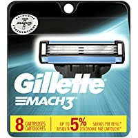 8-Pack Gillette Mach3 Refill Blades