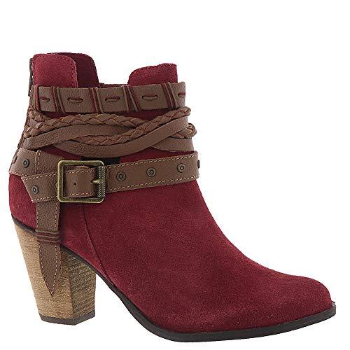 (Naughty Monkey Cuthbert Women's Boot 7 B(M) US Red)