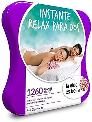 LA VIDA ES BELLA - Caja Regalo - INSTANTE RELAX PARA DOS - 1260 ...
