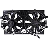 MAPM Premium STRATUS / CIRRUS 95-00 RADIATOR FAN SHROUD ASSEMBLY, Dual Type, 6Cyl, Stamped 4595782 or 4662598