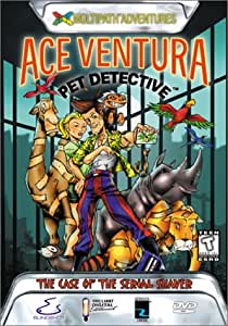Ace Ventura Pet Detective - The Case of the Serial Shaver (Interactive DVD)