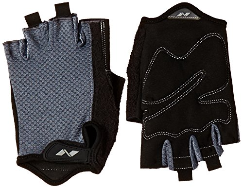 Nivia Python Gym Gloves, Extra Large (Black/Grey)