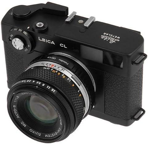 OM Film Camera Mount Lens to Leica M Adapter M9 Fotodiox Lens Mount Adapter Fotodiox Adapter Olympus OM Objektive an Leica M Kameras Olympus Zuiko Ricoh GXP Mount 12 with Leica Module fits Leica M8