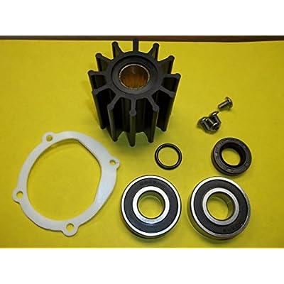 The ROP Shop | Water Pump Repair Kit for Johnson F6B-9 Raw Water Impeller Pumps: Garden & Outdoor