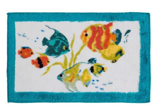 Creative Bath R1073MULT Rainbow Fish Bath Towel