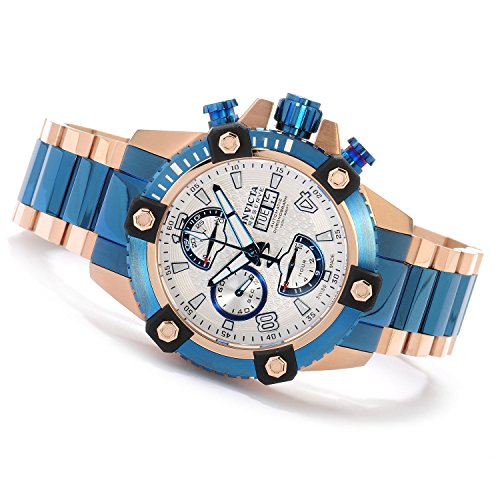 Invicta Mens Reserve Arsenal Swiss Made VALJOUX 7750 Automatic Blue Style TT Watch 13983 (7750 Automatic Watch)
