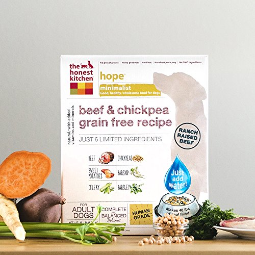 The Honest Kitchen Dehydrated Minimalist Limited Ingredient Dog Food
