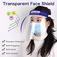 Head-Mounted Protective hat, Waterproof, Anti-Fog, Splash-Proof Screen, Transparent PVC Double-Sided Anti-Fog