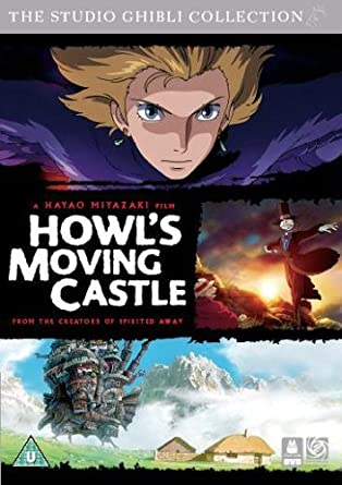 Howl's Moving Castle: Limited Edition Sleeve Design Exclusive to