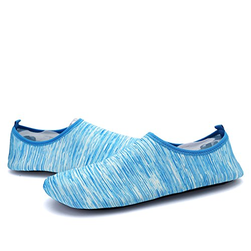 Outsole Quick Shoes On Sports Men Sneaker Outdoor Holey Water Dry and Women Kids' Ventilation 3DBlue Pull KPU fgBWRZ