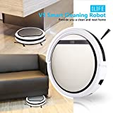 Description: -Intelligent Robot is a new generation robotic vacuum cleaner with OBS all terrain detection system. It is controlled by advanced intelligent program, save your time and effort. It can sweep hardwood floor and short-haired carpet. It als...