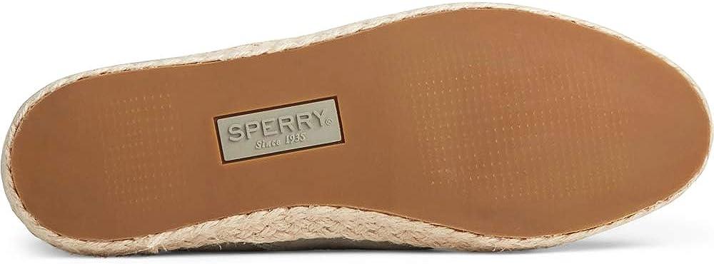 Sperry Women's Sailor Twin Gore Leather/Jute Boat Shoe Sage
