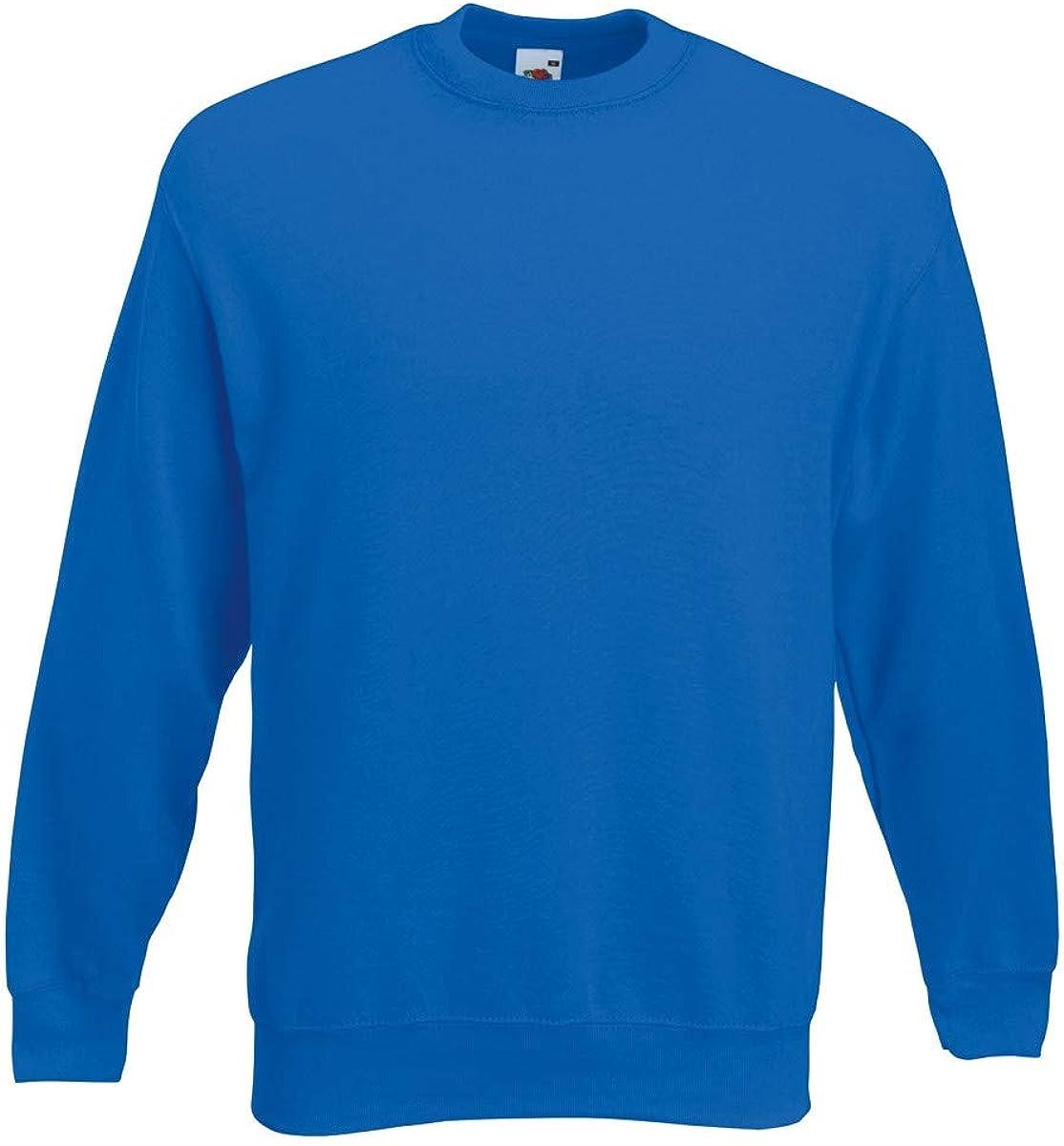 Fruit of the Loom Mens 62-202-0 Long Sleeve Sweatshirt