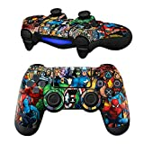 Mod Freakz Pair of Vinyl Controller Skins - Mob Group for Playstation 4