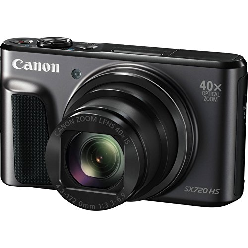 Canon PowerShot SX720 HS Wi-Fi Digital Camera with 32GB Card + Case + Battery & Charger + Flex Tripod + Kit by Canon (Image #1)