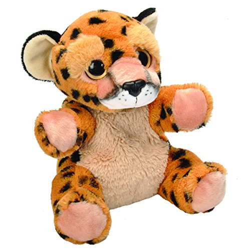 Wild Republic Cuddlekins Cheetah (Wild Republic Hand Puppet Cheetah Plush)