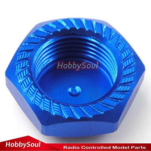 20pc RC 17mm Alum Wheel Hub Mount Nuts P1.0mm M12 For 1//8 Kyosho Losi XRay Mugen