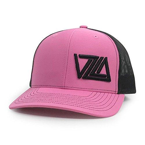 WUE Venezuela Snapback Baseball Cap VZLA Design (Hot Pink/Black)