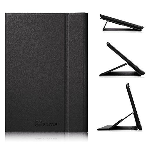 Fintie Samsung Galaxy Tab A 8.0 (2015) Case, Slim Light Weight Stand Smart Book Cover Auto Sleep/Wake Compatible Galaxy Tab A 8.0 SM-T350/P350 2015 (NOT Fit 2017/2018 Version), Black