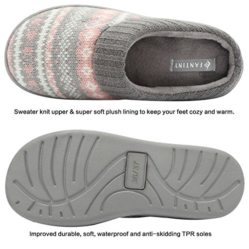 Sweater Slippers Pattern Ribbed And Knit House Memory Hand Collar