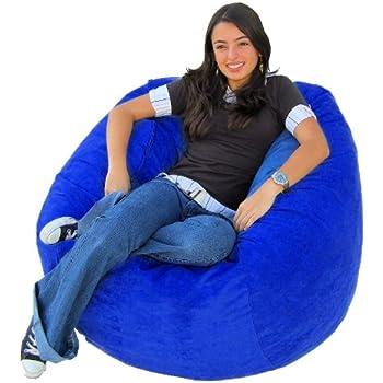 Amazon Com Cozy Sack 4 Feet Bean Bag Chair Large Royal