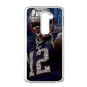 ZK-SXH - Tom Brady Diy Cell Phone Case for LG G2,Tom Brady Personalized Case