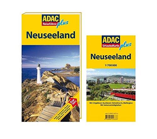 ADAC Reiseführer plus Neuseeland: Mit extra Karte zum Herausnehmen