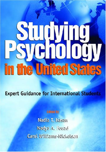 STUDYING PSYCHOLOGY IN THE UNITED STATES