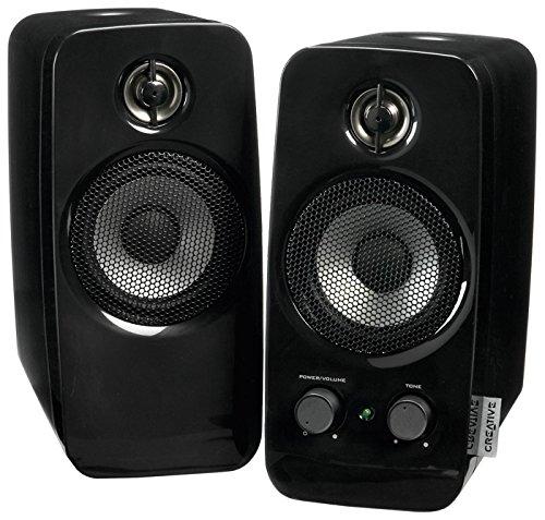 Creative MF1601 Inspire T10 2.0 Speakers (2-Piece) Black