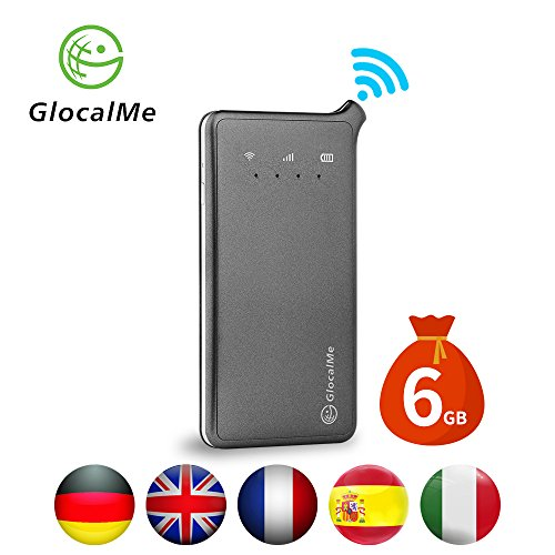 GlocalMe U2 4G Mobile Hotspot - WiFi Hotspot with 6GB Data for UK DE IT FR ES by GlocalMe (Image #7)