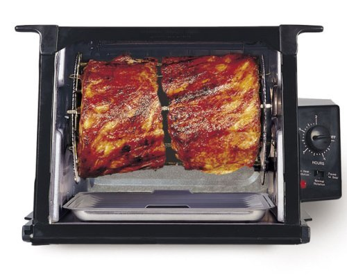Ronco 3000 ShowTime Rotisserie Gloss Black