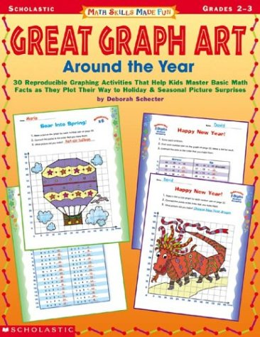 Read Online Math Skills Made Fun: Great Graph Art Around The Year ebook