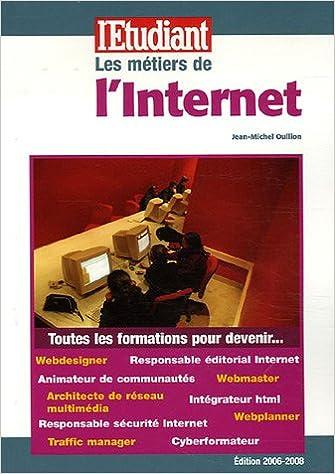 En ligne Les métiers de l'Internet pdf, epub