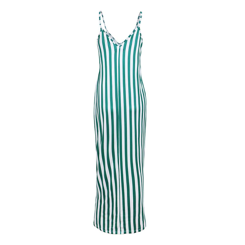 iChunhua Womens Summer V Neck Cami Maxi Dresses for Party