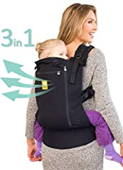Made specifically to be a roomy carrier for growing toddlers, the CarryOn toddler carrier creates an ergonomic and comfortable way to carry your child for many years. Featuring a wider and taller torso than most carriers, the CarryOn is possi...