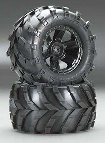 (PROLINE 119213 Masher 2.8 All Terrain Tires Mounted On Desperado Rear Wheels (2))
