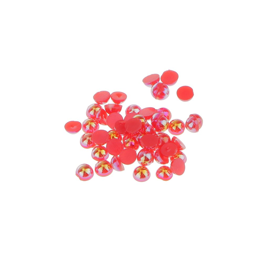 B Baosity 1000 St/ück Kristall Deko Strass Steine Strasssteine Acrylsteine zum Basteln Verzieren Beige 2mm