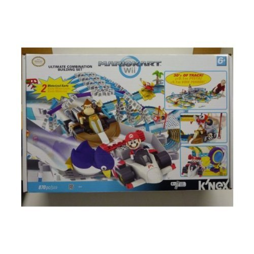 K'NEX Wii Mario Kart Building Set - Ultimate Combination