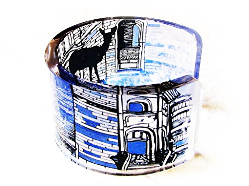 1-transparent-clear-acrylic-resin-epoxy-plexi-bracelet-cuff-bangle-with-hand-printed-art-graphic-ima